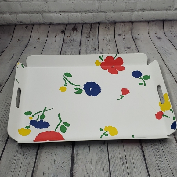 Vintage Other - Vintage 70's Match Mates Flower Breakfast Tray